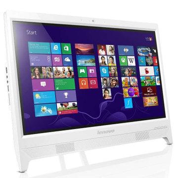 5英寸一体机电脑(奔腾3805u 4g 500g 摄像头 wifi win8.1)(白色)