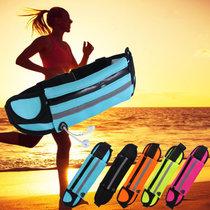 戶外腰包男馬拉松跑步運動手機包輕薄貼身防盜隱形式腰包女TP1915(藍色)