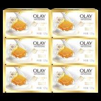 【正品包郵】Olay玉蘭油香皂沐浴清潔香皂家庭裝 115g*6塊裝(乳液滋養型)