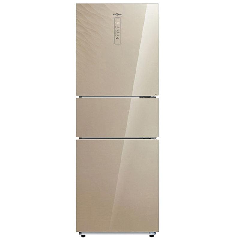 美的冰箱配件附件_【美的BCD-260WTGPZM冰箱图片】美的(Midea) BCD-260WTGPZM 260升电脑风冷 ...