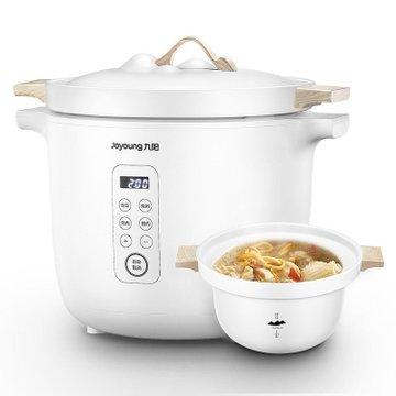 九阳(Joyoung) 北山电炖锅D-35Z3 家用多功能智能预约 陶釜炖肉煲汤煮粥锅 3.5L大容量