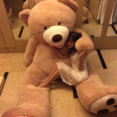 美国costco巨熊超大号泰迪熊毛绒玩具娃娃 送女生情人