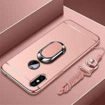 苹果xr手机壳 iPhoneXR保护套 苹果iphone xr个性创意拼接防摔电镀硬手机保护壳送全屏钢化膜(图4)