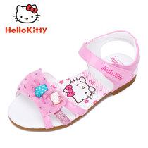 hello kitty童鞋女童凉鞋儿童公主鞋防滑夏韩版中大童小孩沙滩鞋K7625813(31码/约200mm 金典粉)