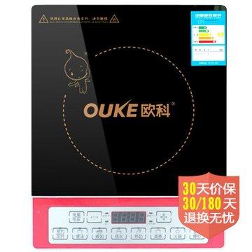 欧科(ouke)按键式电磁炉okc2081 3级能效 电磁炉顶部独特散热设计