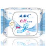 ABC丝薄棉柔护垫22片