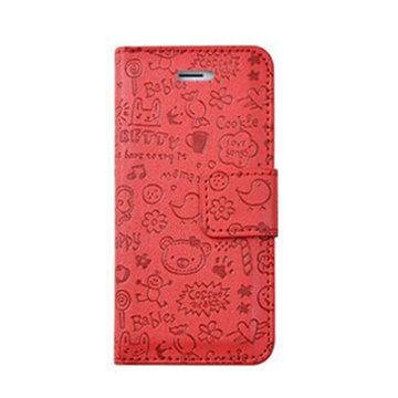 北陌 苹果 iphone5小可爱手机套 iphone5s侧翻手机壳