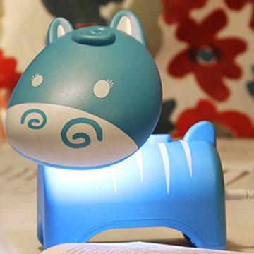 小萌马led节能创意桌面usb充电台灯 学生卧室学习护眼