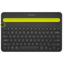 罗技(Logitech)K480 多设备蓝牙键盘 IPAD键盘 手机键盘 时尚键盘男生版 蓝牙鼠标伴侣 黑色