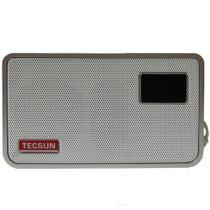 德生(Tecsun) ICR-100 收音机 广播录音机 体积纤小 操作简单 银色