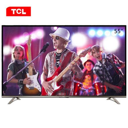 TCL彩电L55E5800A-UD 55英寸4K超高清影院Android4.2智能电视