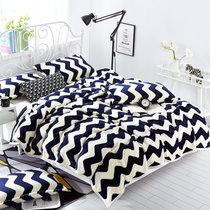 南极人法兰绒毯子毛毯 四季毯法莱绒午睡毯单双人空调毯 潮流前线(潮流前线)