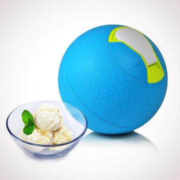 滚滚滚~diy冰激凌制作球(蓝色)