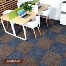 商用办公室地毯方块写字楼卧室服装店酒店宾馆满铺拼接块毯50*50(金牛座H-03+05)