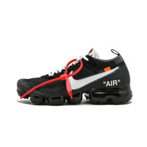 Nike耐克 Air Vapormax x Off White 联名跑步鞋男鞋大气垫休闲鞋女鞋 白冰兰(AA3831 001 44)
