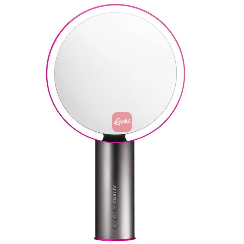 AMIRO AML005G 高清日光镜 抖音同款LED化妆镜 美妆镜子台灯 充电版 深空灰