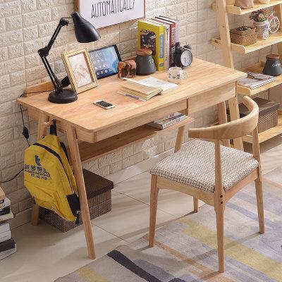 MINGJIAYOU 明佳友 SZ01H 实木书桌 1.2m+椅子 899元包邮