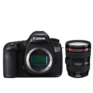 佳能(Canon)EOS 5DSR专业全画幅单反相机 5dsr 5DS R(24-105 f/4L IS USM 延保)