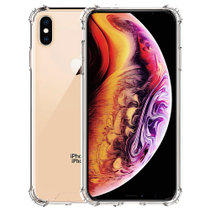 ESCASE 苹果iPhoneXsMax手机壳 抖音同款 6.5英寸全包防摔软壳双料抗摔抗黄变 德国进口拜耳TPU 高透