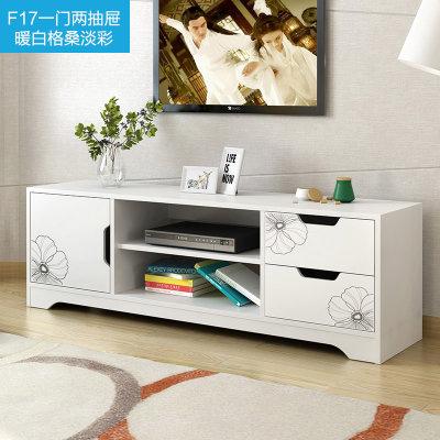 物植 电视柜 ZT-09(一门两抽暖白格桑)