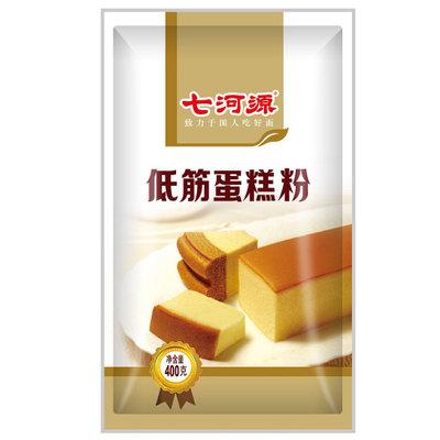 【国美自营】七河源 低筋蛋糕粉 400g   2.9 元包邮