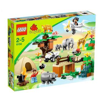 乐高lego *积木 得宝大颗粒 动物园全家福 l6156 专柜