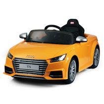 星辉婴童Rastar 儿童电动车奥迪TTS电动童车儿童玩具汽车四轮遥控电瓶车(黄色)