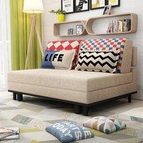 TIMI 现代沙发 沙发床 ?#23478;?#27801;发 可折叠沙发 多功能沙发 客厅沙发(米黄色 1.45米)
