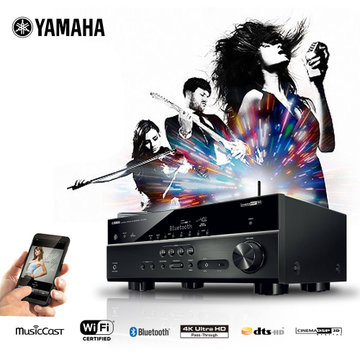 yamaha/雅马哈 rx-v479 数字家庭影院蓝牙5.