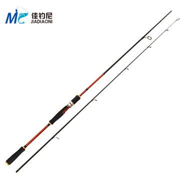4米金色版路亚竿 直柄 路亚竿 渔具 钓鱼竿 海竿(2.1米路亚竿单杆)
