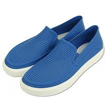 crocs卡骆驰男鞋乐福透气板鞋凉鞋运动沙滩鞋懒人鞋涉水鞋|202363(天青蓝/白 39)