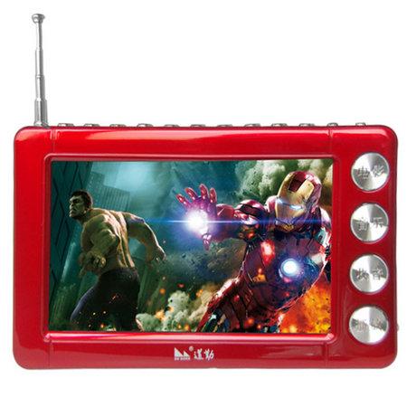 道勤mu-677多功能看戏机(红色)