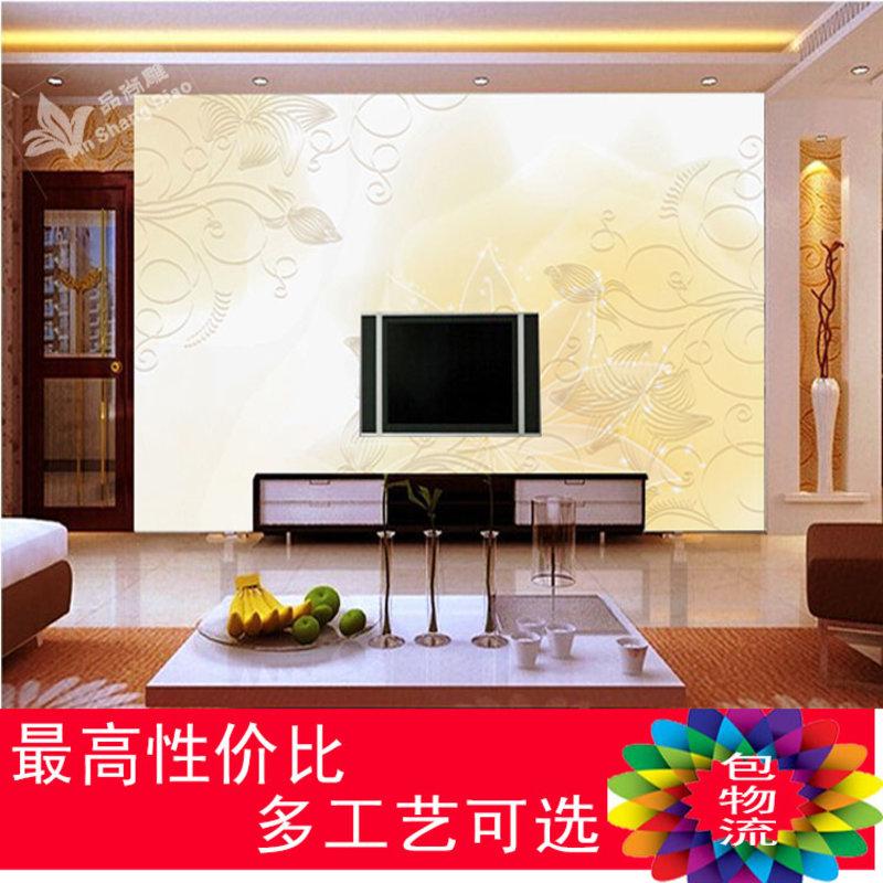 【畅销品瓷砖图片】品尚雕 精雕微晶石瓷砖电视背景墙