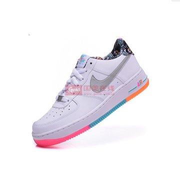 耐克nike男鞋 女鞋air af1彩色涂鸦男子 女子时尚 休闲鞋 运动 板鞋