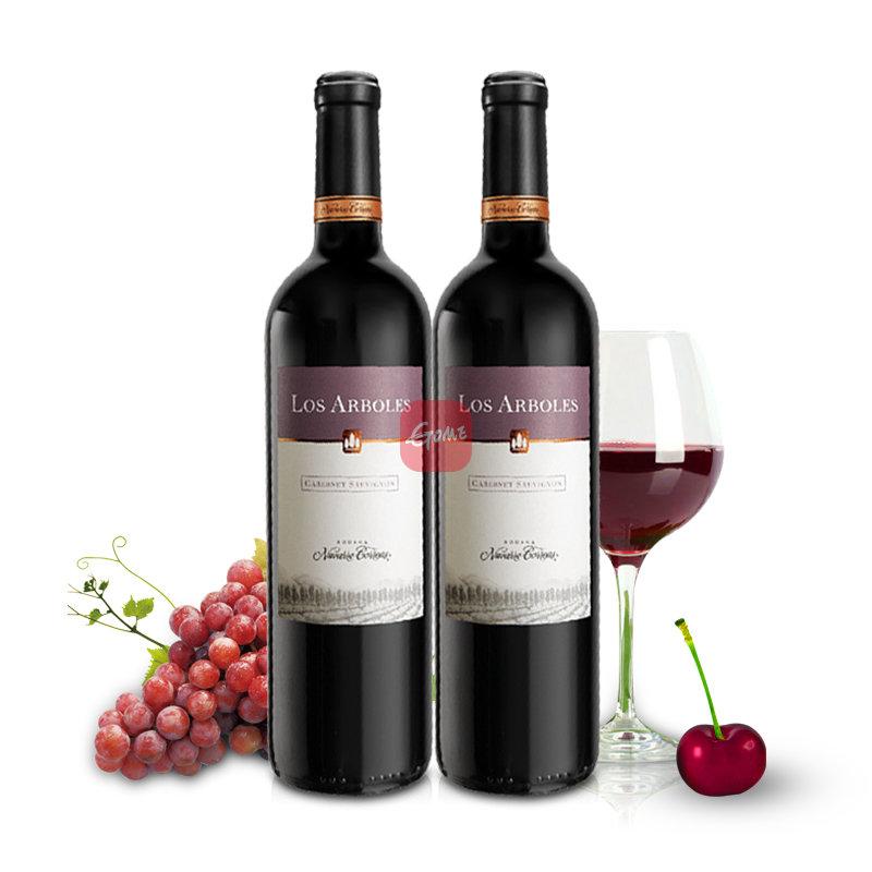 阿根廷橡树庄园赤霞珠红葡萄酒2支装750ml