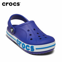 Crocs卡骆驰洞洞鞋 儿童宝宝凉鞋贝雅卡骆班男童凉鞋|205100(34.5 蔚蓝)