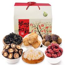 禾煜 梦想和礼礼盒1618g 送礼佳品 猴头菇银耳木耳香菇桂圆红枣年货礼盒