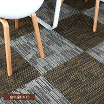 办公室地毯拼接方块地毯卧?#34915;?#38138;写字楼酒店宿舍工程商用条纹地毯(金牛座F-03+05)