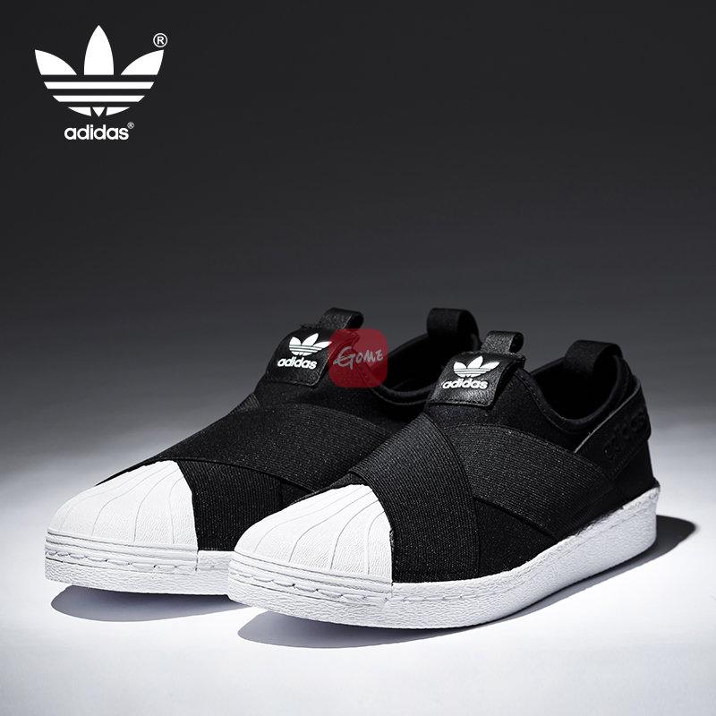 贝壳鞋adidas蛇皮纹