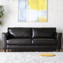 TIMI 天米 现代沙发 皮艺沙发 简约沙发组合 办公沙发 商务洽谈沙发 会客沙发(黑色 双人沙发)