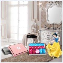 Disney迪士尼 純棉毛巾禮盒 柔軟吸水吸汗家庭毛巾禮盒 迪士尼 公主家庭幸福組合