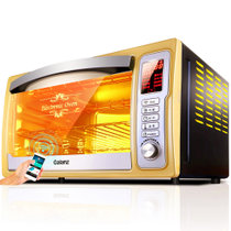 【领券购立减】格兰仕(Galanz)iK2S(TM) 手机智能控制 上下管独立控温 电烤箱 32L 土豪金