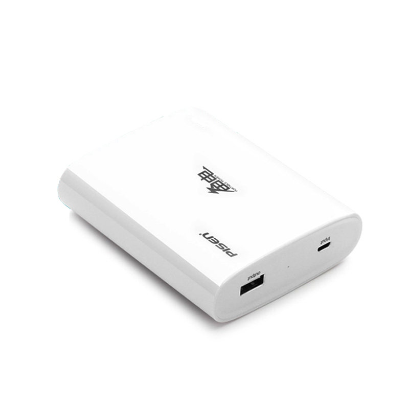 品胜pisen 备电6600毫安移动电源手机通用充电宝大容量电池移动充电宝