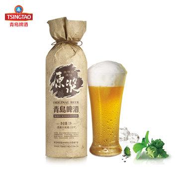 青岛啤酒 原浆啤酒 1l*1桶 生啤酒原液 官方直营品质保障