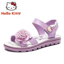 HelloKitty童鞋女童凉鞋2018夏季新款女童鞋防滑露趾女孩凉鞋潮K8623801(29码/约186mm 紫色)