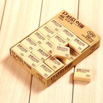 洁饶【30个装橡皮擦】学生绘画4B橡皮擦 儿童美术学习事物办公用品盒装100A(橡皮擦100A 30个)