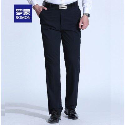 罗蒙 9KZ910661 男士商务休闲裤 79元包邮