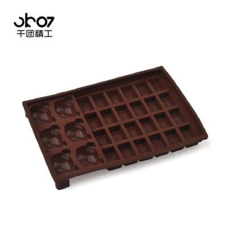 千团精工 微波炉蛋糕模具 硅胶蛋糕模具 硅胶巧克力模具 软模具