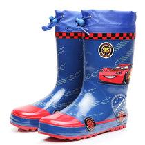儿童雨鞋蓝色套鞋天然橡胶手工童鞋防滑防水胶鞋中筒雨鞋套装(蓝色雨鞋 36码(内长24.0cm))