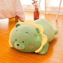 爱迷糊毛绒玩具公仔卡通狮子抱枕 新款太阳狮子玩偶女生 儿童礼物(绿色 高35cm)